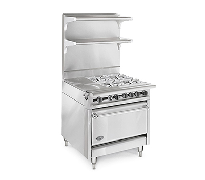"American Range HD34-34VG-M 34"" Gas Range with Griddle, LP"