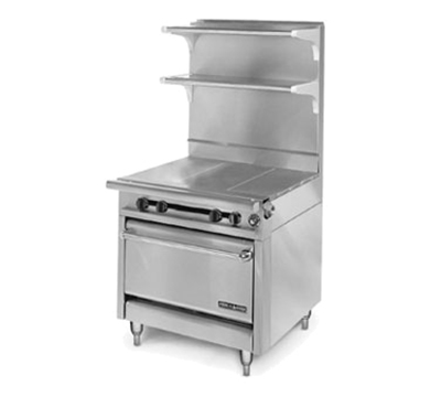 "American Range HD34-3HT-1 34"" Gas Range with Hot Top, LP"