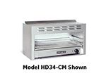 "American Range HD36-CM 36"" Gas Cheese Melter w/ Infrared Burner, Stainless, LP"