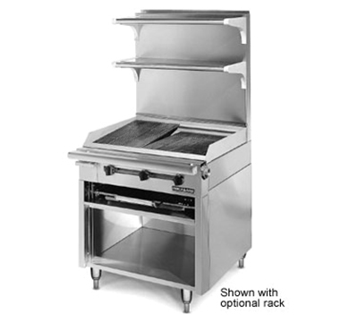 "American Range HD34-CRB-M 34"" Gas Range with Charbroiler, NG"