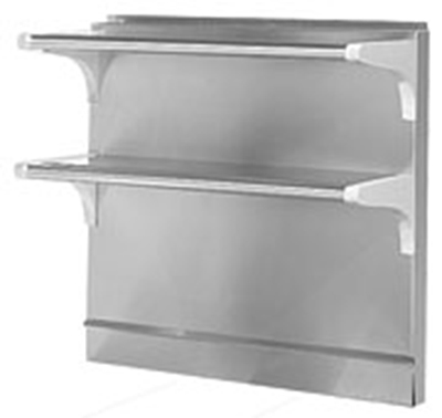 American Range HD-DDHS-34 High Shelf w/ 2-Decks, 34 x 34-in