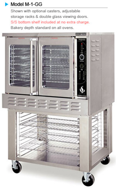 American Range MA-1 Deep Depth Gas Convection Oven - LP