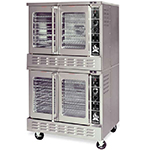 American Range MSDE-2 Double Full Size Electric Convection Oven - 208v/3ph