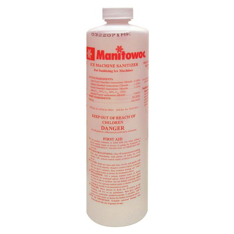 Manitowoc Ice 000005164 16-oz AuCS-SI Sanitizer