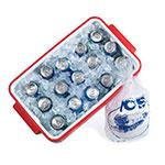 "Manitowoc Ice IB-0696YC 22"" QuietQube® Cube Ice Machine Head - 640-lb/24-hr, Remote Cooled, 115v"