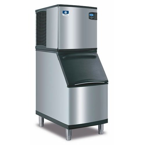 Manitowoc Ice ID0322A161B320 335-lb/Day Full Cube Ice Maker w/ 210-lb Bin, Air Cooled, 115v
