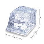 Manitowoc Ice ID0452AB570 420-lb/Day Full Cube Ice Maker w/ 430-lb Bin, Air Cooled, 115v