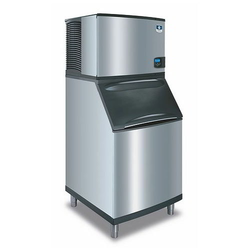 Manitowoc Ice ID0452AB570 420-lb/Day Full Cube Ice Maker w/ 430-lb Bin, Air Cooled, 115v