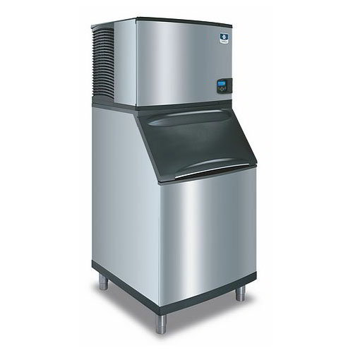 Manitowoc Ice ID0453W161B570 430-lb/Day Full Cube Ice Maker w/ 430-lb Bin, Water Cooled, 115v