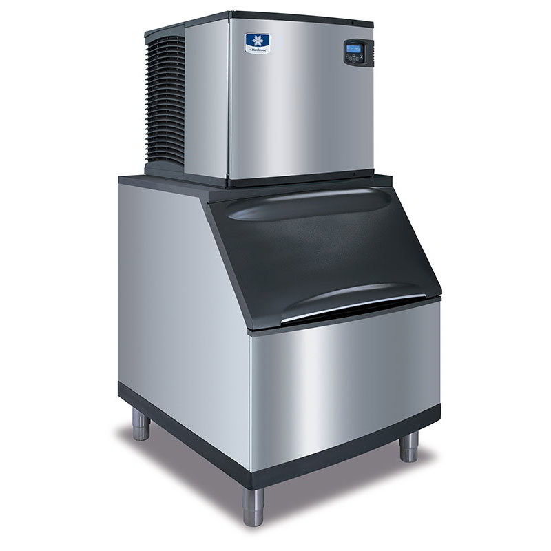 Manitowoc Ice ID-0522A-161/B-420 475-lb/Day Full Cube Ice Maker w/ 310-lb Bin, Air Cooled, 115v
