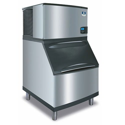 Manitowoc Ice IY0304AB400 310-lb/Day Half Cube Ice Maker w/ 290-lb Bin, Air Cooled, 115v