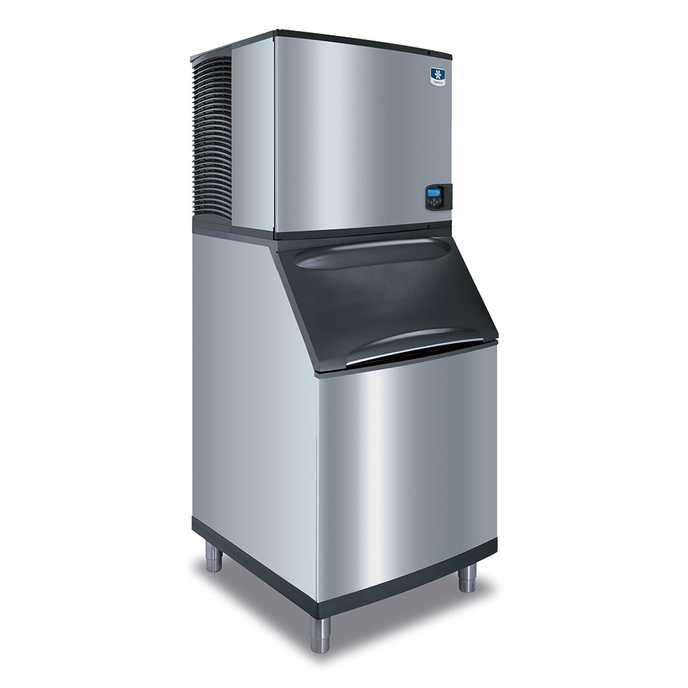 Manitowoc Ice IY0504A161B570 560-lb/Day Half Cube Ice Maker w/ 430-lb Bin, Air Cooled, 115v