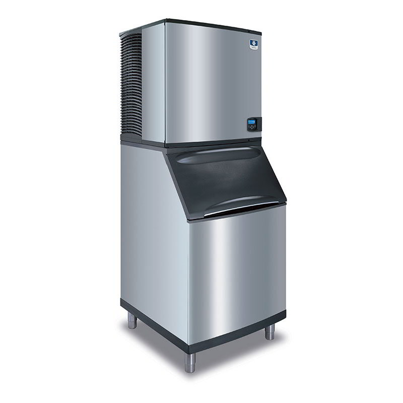 Manitowoc Ice IY-1106A-261/B-570 1200-lb/Day Half Cube Ice Maker w/ 430-lb Bin, Air Cooled, 208-230v/1