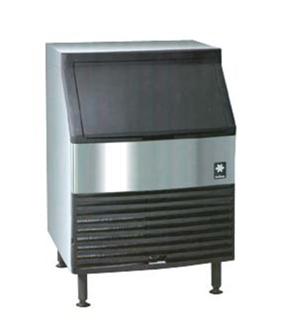 Manitowoc Ice QY-0214A Cube Style Ice Maker with Bin - 220-lb/24-hr Capacity, Air-Cooled 115v