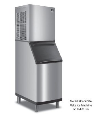 RFS-1200A-251 Flake Style Ice Maker w/ 1202-lb/24-hr Capacity, Air Cool, Export