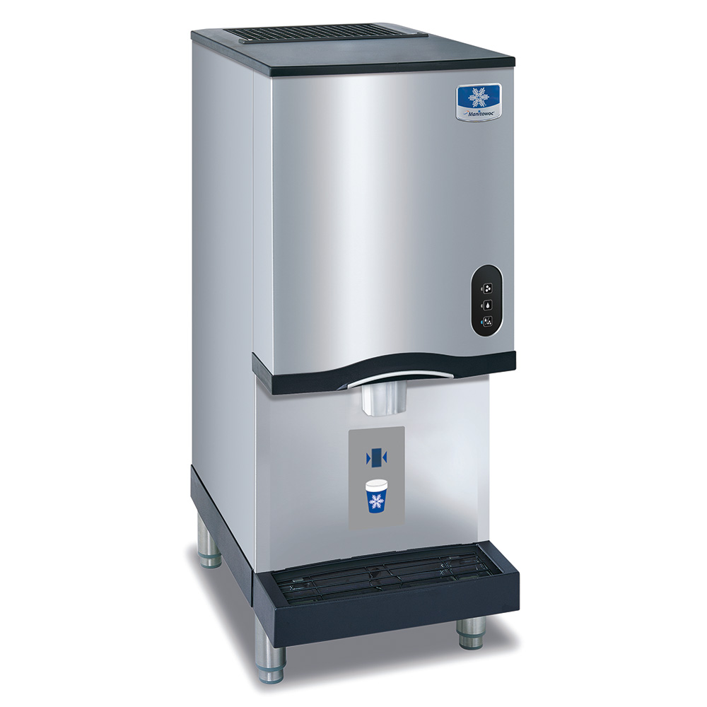 Countertop Ice Maker With Storage : Ice RNS-12AT Countertop Nugget Ice Dispenser w/ 12-lb Storage ...