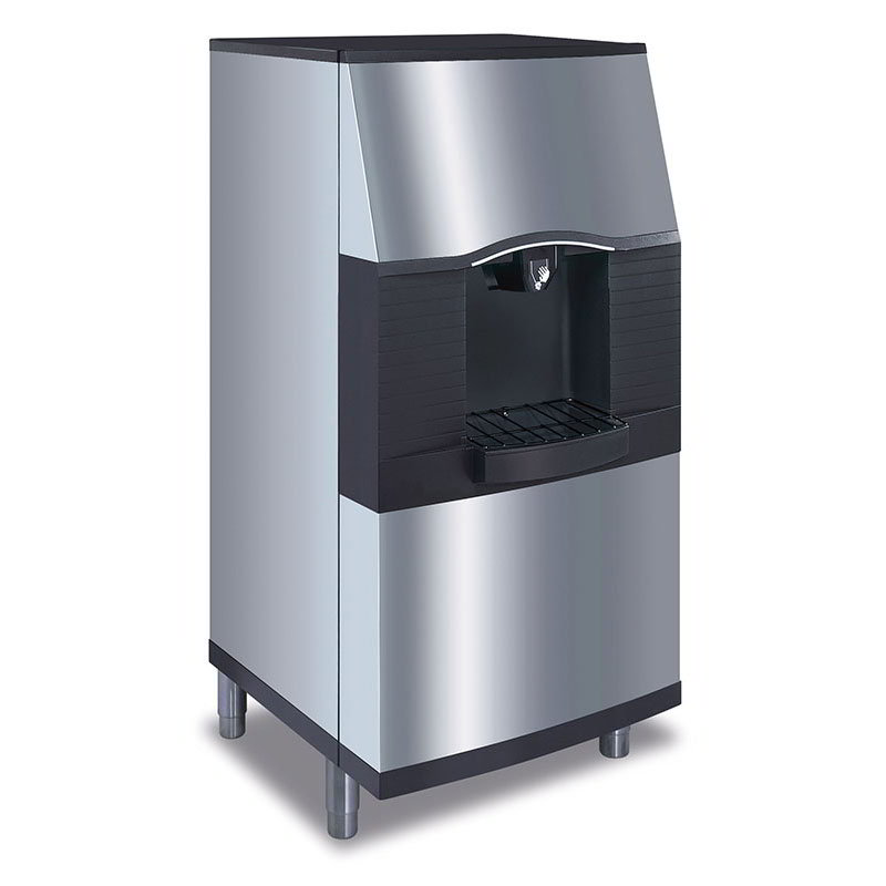 Manitowoc Ice SPA-310 Floor Model Cube Ice Dispenser w/ 120-lb Storage - Bucket Fill, 115v