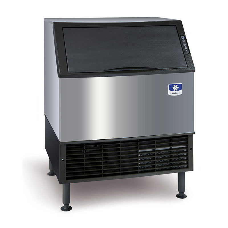 UY-0310W Undercounter Half Cube Ice Maker - 271-lbs/day, Water Cooled, 115v
