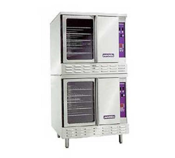 Imperial ICVE-2 Double Full Size Electric Convection Oven - 208v/3ph