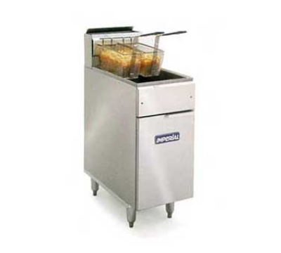 Imperial IFS-40-E Electric Fryer - (1) 40-lb Vat, Floor Model, 240v/3ph