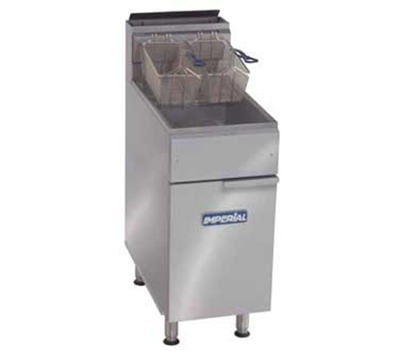 Imperial IFS-50 NG Gas Fryer - (1) 50-lb Vat, Floor Model, NG