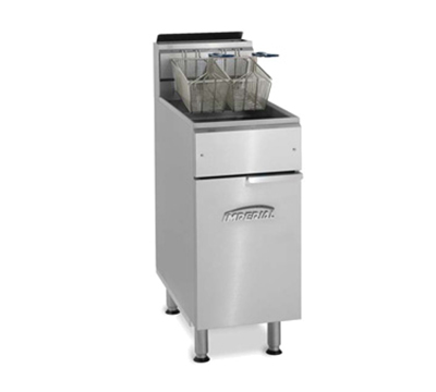 Imperial IFS-50-OP NG Gas Fryer - (1) 50-lb Vat, Floor Model, NG