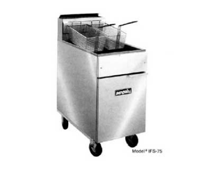 Imperial IFS-75-E Electric Fryer - (1) 75-lb Vat, Floor Model, 208v/3ph