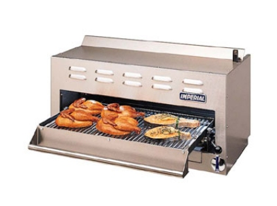 "Imperial ISB-36 LP 36"" Gas Salamander Broiler, LP"