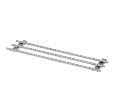Piper Products 3BTS-88 12x88-in Removable Tray Slide, 3-Bar, 6-Opening, Stainless