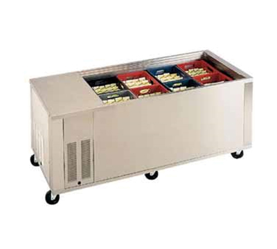 Piper Products BMD-12 Milk Cooler w/ Top Access - (600) Half Pint Carton Capacity, 120v