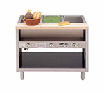 Piper Products DME-6-OS 2081 86-in Hot Food Serving Counter, Modular, 6-Wells, Open Cabinet Base, 208/1V