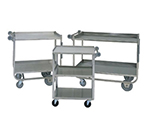 Piper Products 4-UCS-3 24-in Utility Delivery Cart w/ 3-Small Shelf