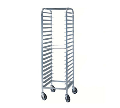 Piper Products 505-M-T 25-in Tabletop Rack w/ 5-Tray Capacity & 3-in Slide Spacing, Aluminum