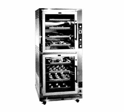 Piper Products RP-16 2-Section Proofer Warmer w/ 16-Pan Capacity & 12-Wire Racks