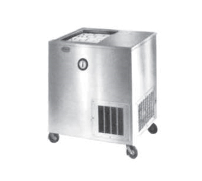 Piper Products R22-M(MOBILE) Milk Cooler w/ Top Access - (972) Half Pint Carton Capacity, 120v