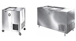 Piper Products R22-S(STNRY) Milk Cooler w/ Top Access - (972
