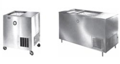 Piper Products R22-S(STNRY) Milk Cooler w/ Top Access - (972) Half Pint Carton Capacity, 120v