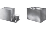 Piper Products RF11-BI(DUAL)-CV 3-Crate Milk Cooler, 120v