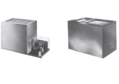Piper Products RF21-BI(DUAL)-CV Milk Cooler w/ Top Access - (405) Half Pint Carton Capacity, 120v