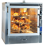 Piper Products RO-1 2401 Electric 3-Tray Commercial Rotisserie, 240