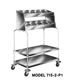 Piper Products 715-2-P4 2-Stack Tray
