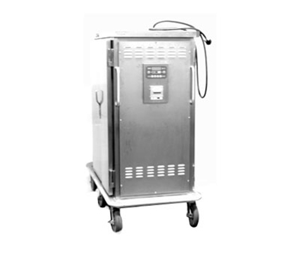 Piper Products ST-24-H 2083 2-Door Heated Meal Delivery Cart w/24-Plate Capacity, 208/3V