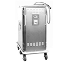 Piper Products ST-20-H 2-Door Heated Meal Delivery Cart w/20-Plate Capacity