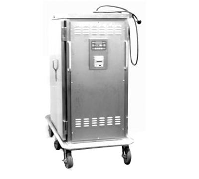 Piper Products ST-24-R 2-Door Refrigerated Meal Delivery Cart w/24-Plate Capacity