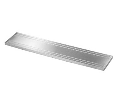 Piper Products SRTS88 12-in Solid Ribbed Tray Slide For 88-in Unit, Stainless