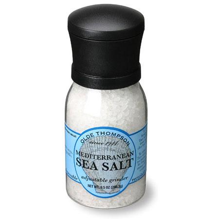 Olde Thompson 1020-06 9.5-oz Sea Salt Disposable Spice Grinder