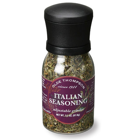 Olde Thompson 102009 Disposable Spice Grinder, Italian Seasoning