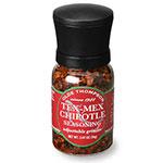 Olde Thompson 1040-16 Disposable Mini Grinder w/ Tex-Mex Chipotle Seasoning, 2.67-oz Jar
