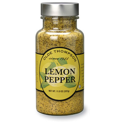 Olde Thompson 1400-04 Lemon Pepper, 4.9-oz Jar