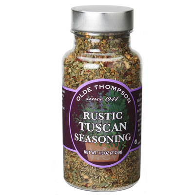 Olde Thompson 1400-33 Rustic Tuscan Rub, 7.5-oz Jar